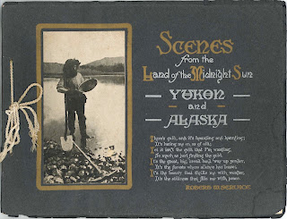 "The cover for ""Scenes from the Land of the Midnight Sun."""
