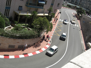 Monaco - Monte Carlo F1 track in the town