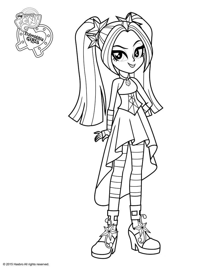 coloring pages for kids free images free equestira girls my