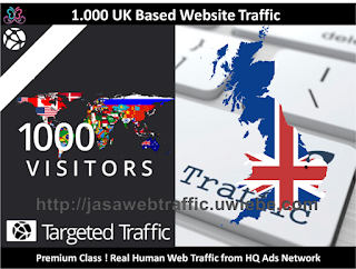 1.000 UK High Quality Web Traffic