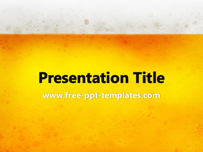 Beer ppt template toneelgroepblik Gallery