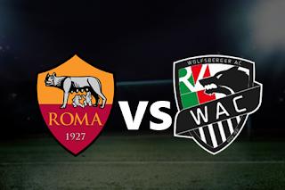 اون لاين مشاهدة مباراة وولفسبيرجر و روما 3-10-2019 بث مباشر في الدوري الاوروبي اليوم بدون تقطيع