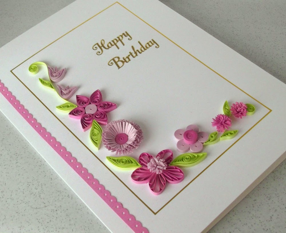 Gift Card From Paper Quilling Creative Art And Craft Ideas