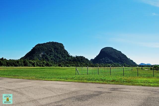 Aeropuerto de Mulu, Borneo (Malaysia)