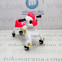 Ride On Car Happy Baby Dragon White Red