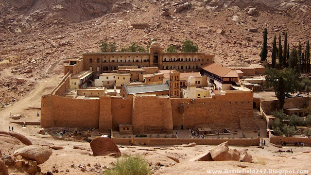 St. Catherine's Monastery is the oldest working Christian monastery in the world