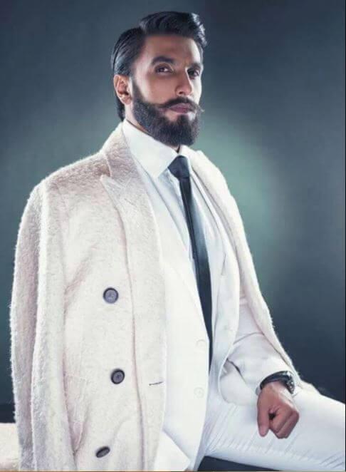 Ranveer Singh New Beard Look