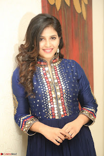 Anjali looks super cute at Chitrangada Pre Release Function March 2017 045.JPG