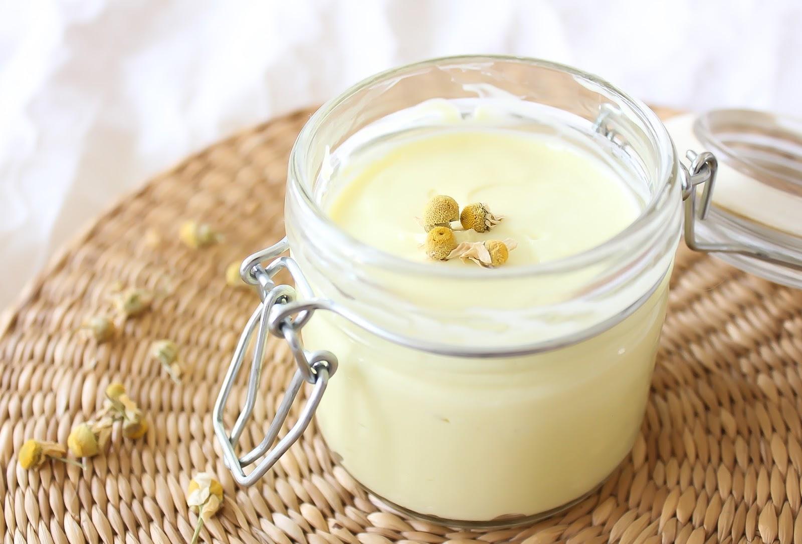 recette de creme protectrice et nourrissante pour peau seche sensible
