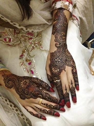 Bridal Mehendi Designs For Wedding