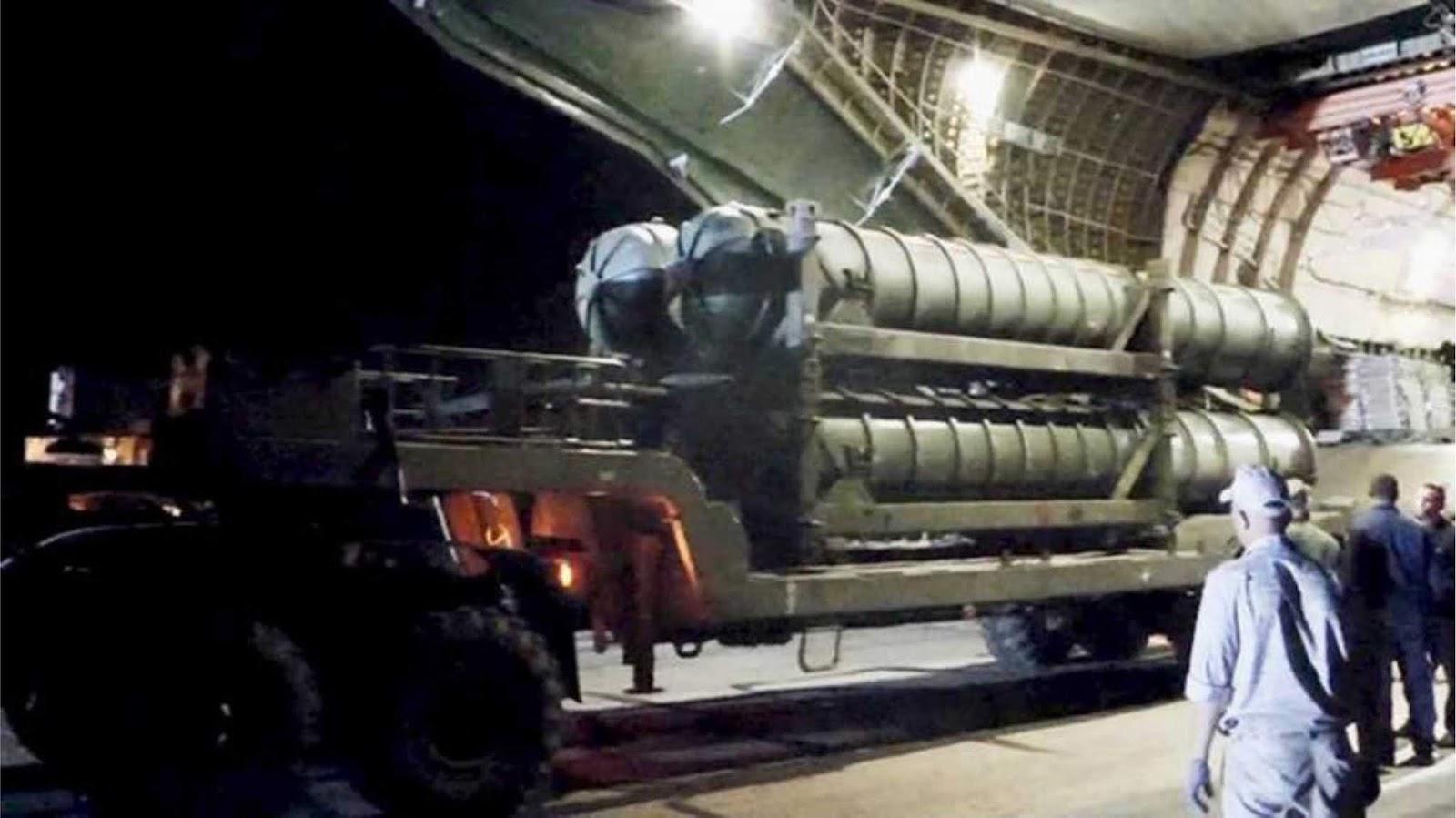 Suriah menerima tambahan 3 resimen sistem pertahanan udara S-300PM-2