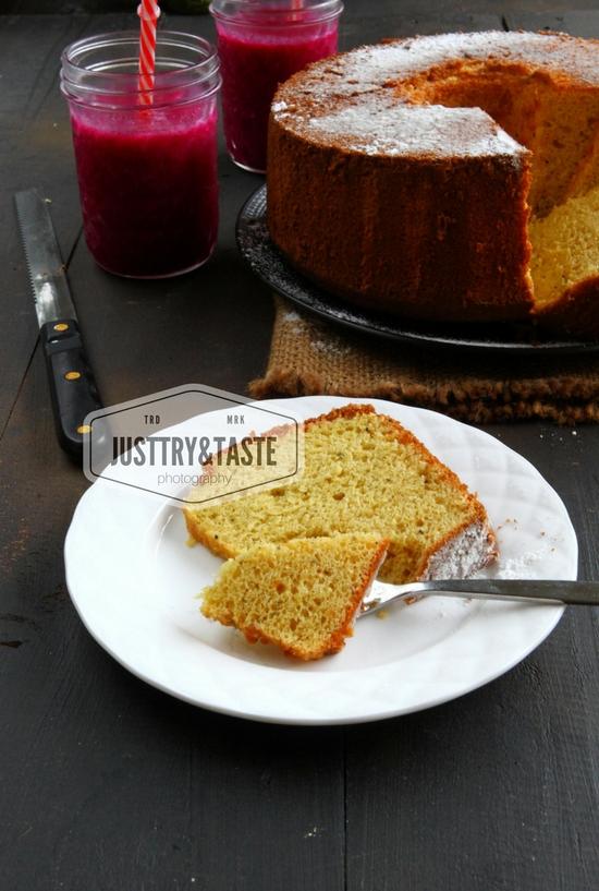 Resep Cake Chiffon Buah Naga