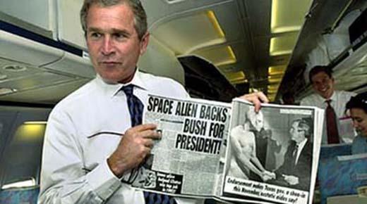 Lo que George W. Bush REALMENTE sabe acerca de los OVNIs