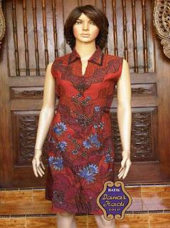 baju batik kerja wanita blazer