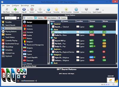 Screenshot RadioMaximus 2.22.0 Full Version