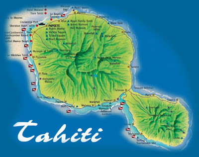 Picture Perfect Places: Tahiti, French Polynesia