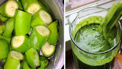 This Green Banana Mixture Will Control Diabetes And Reduce Your Weight And Cholesterol Levels