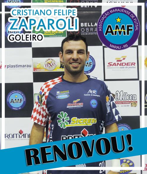 Todo grande time começa com um grande goleiro. E a AMF – Associação  Marauense de Futsal terá a garantia de um goleiro vencedor. c71135327de84