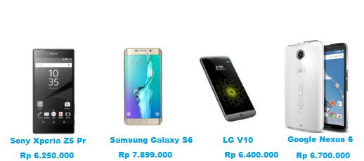 Berikut 4 deretan Hp smartphone tercanggih terbaru dan terbaik yang bisa anda miliki dengan harga yang mahal dan berkualitas paling baik