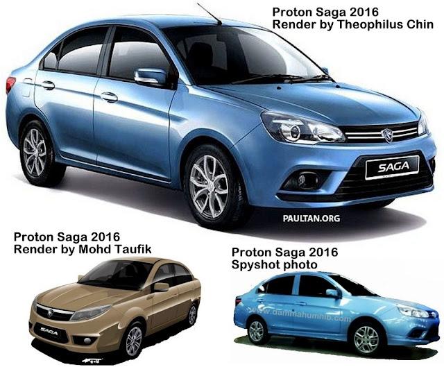 Proton Saga Baru 2016