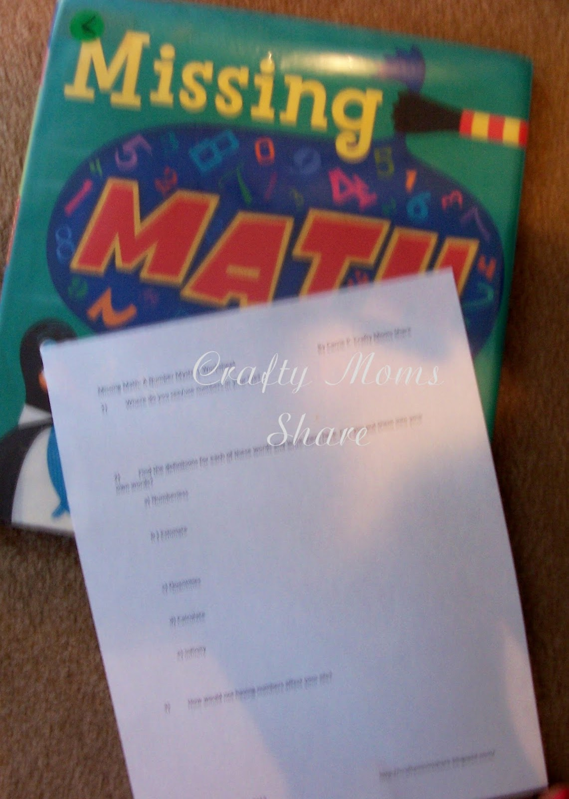 Crafty Moms Share Math Lesson Number Importance Amp Number