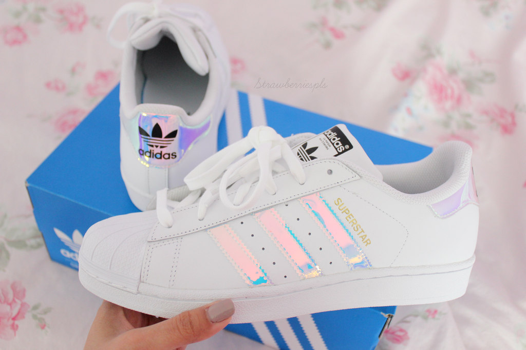 holographic adidas shoes