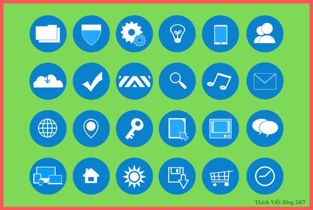 """Cách để sử dụng những icon đẹp mang thẻ tag """"svg"""" 2020"""