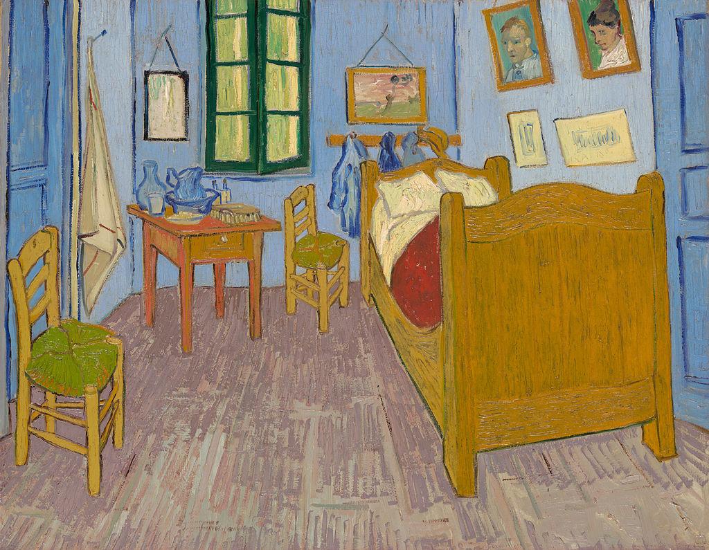 Quarto em Arles ~ Van Gogh