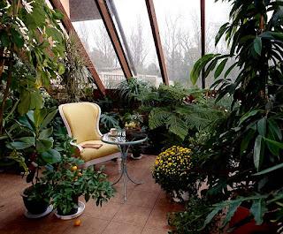 Télikert tetőkert építés