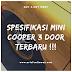 Ini dia Spesifikasi Mini Cooper 3 Door Terbaru