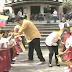 ¿A qué le teme? Tantos guardaespaldas para cuidar a Maduro de niños con la bandera de Venezuela