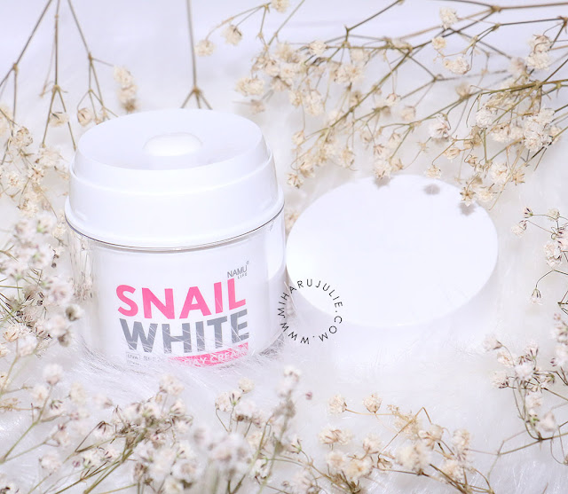 snail white namu life cream review