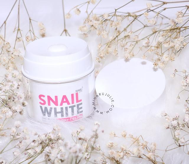 snail white namu life cream review