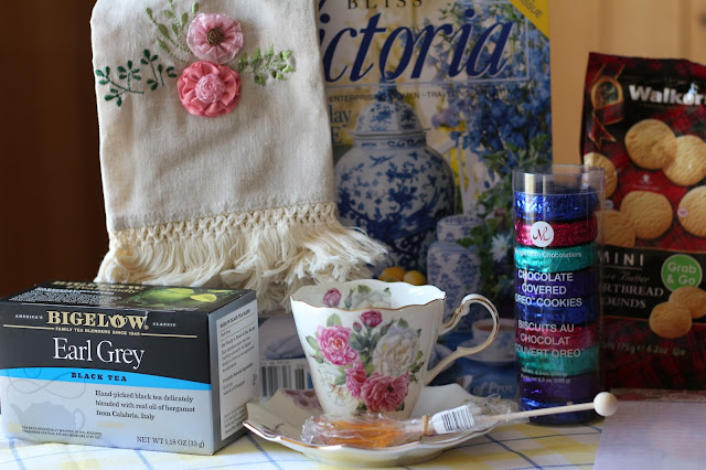 A Lovely Tea Towel, A gift package! Living From Glory To Glory blog