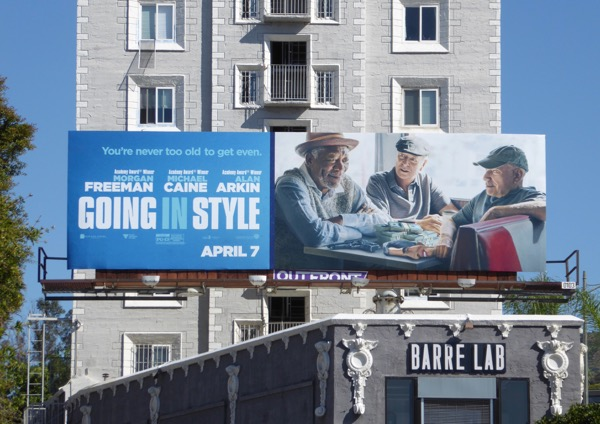 Going in Style movie billboard