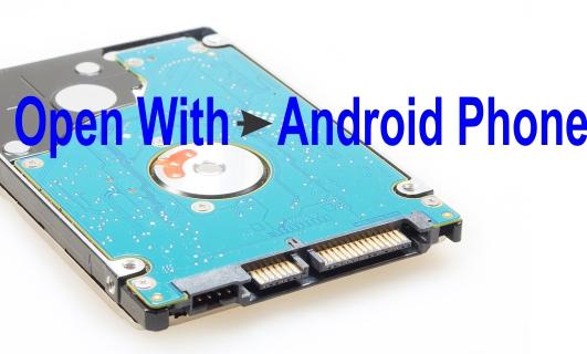 Membuka Hard Disk komputer pakai Android