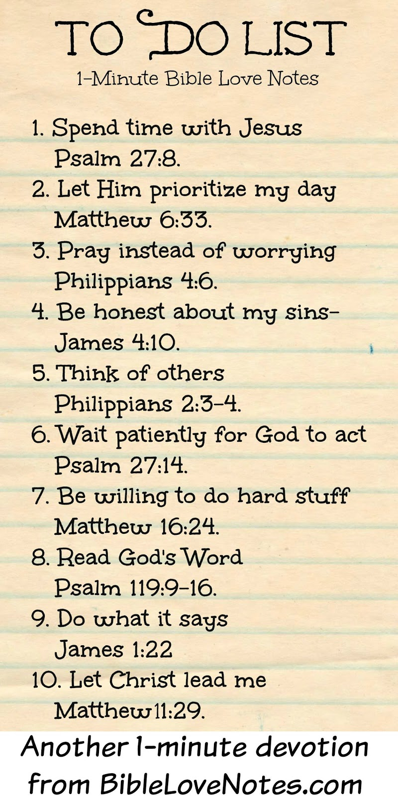 rules of the bible and how to live by them