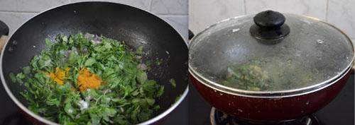 Vendhaya Keerai Poriyal recipe