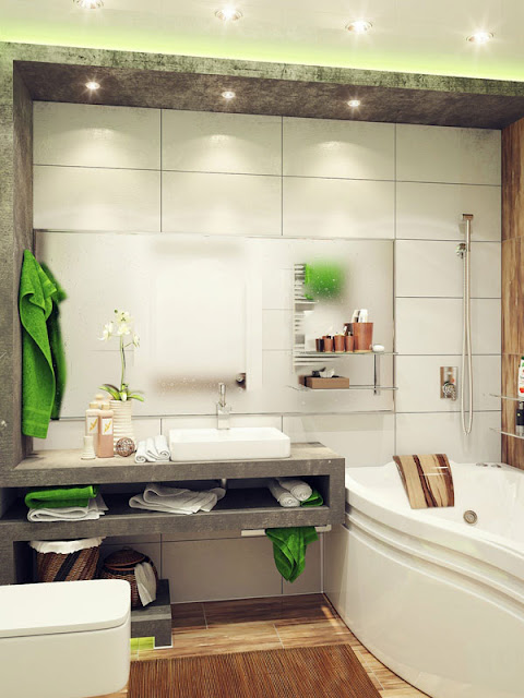 Nice Small Bathroom Design with Marvelous Inspiration