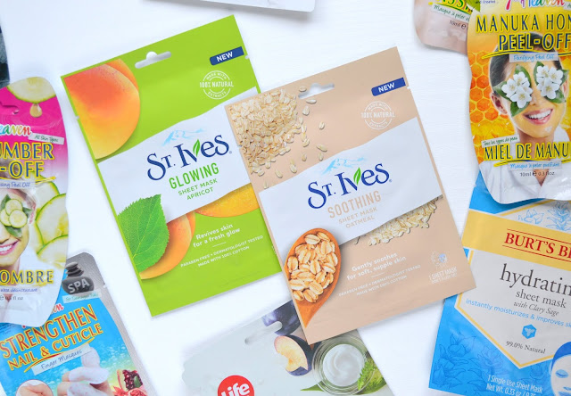 SHEET MASK | St.Ives Soothing Oatmeal and Glowing Apricot Sheet Mask