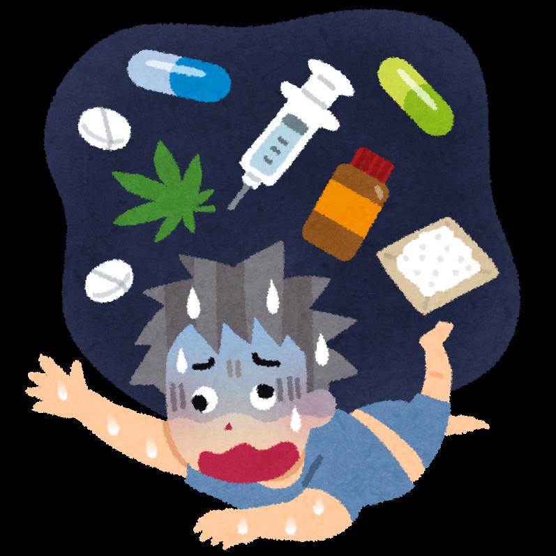覚醒剤麻薬中毒者の顔!見た目の特徴&症状でシャ …