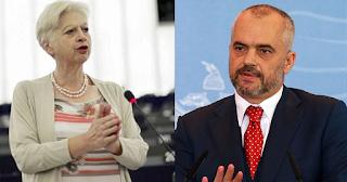 Ελένη Θεοχάρους σε Έντι Ράμα: «Με αίμα δεν μπαίνεις στην Ευρωπαϊκή Ένωση»