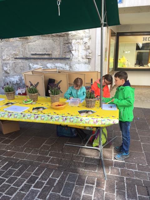 VTSO Blog: Start Malwettbewerb - Marktstand in Solothurn