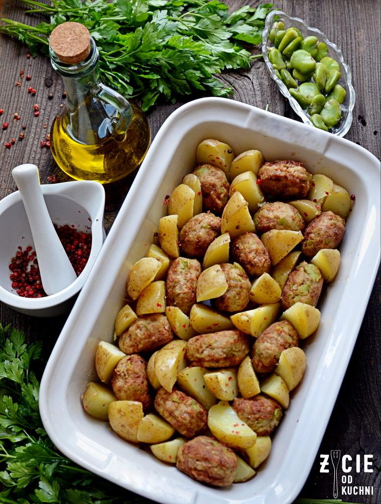kotlety mielone, kotlety z bobu, bób, bób mrożony, poltino, danie z bobem, bób poltino, zapiekanka z bobem, on i ona w kuchni, zycie od kuchni