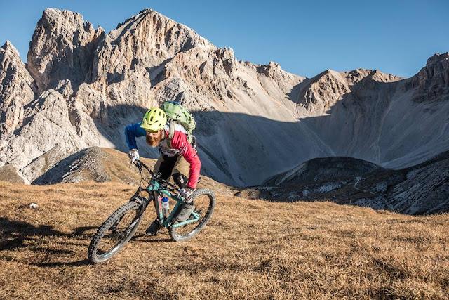 Dolomiten St. Vigil sennesscharte mountainbike
