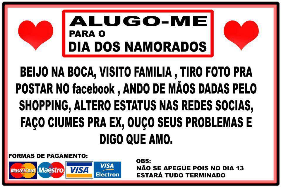 Tag Frases Engraçadas Para Dia Dos Namorados Facebook
