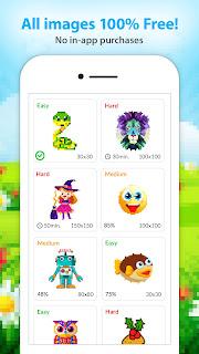 [JEU] Coloriage Magique Gratuit : jeux de dessin en pixel [Gratuit] Screenshot-1