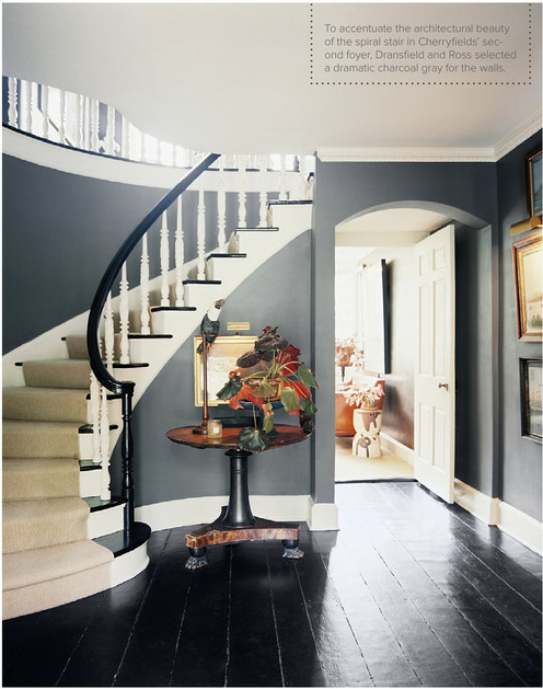 Idea Stairs Blue Wall Wall Color Curves Staircases