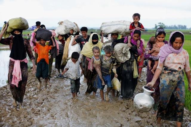 PBB: 800 Ribu Pengungsi Rohingya Dalam Kondisi Sangat Akut