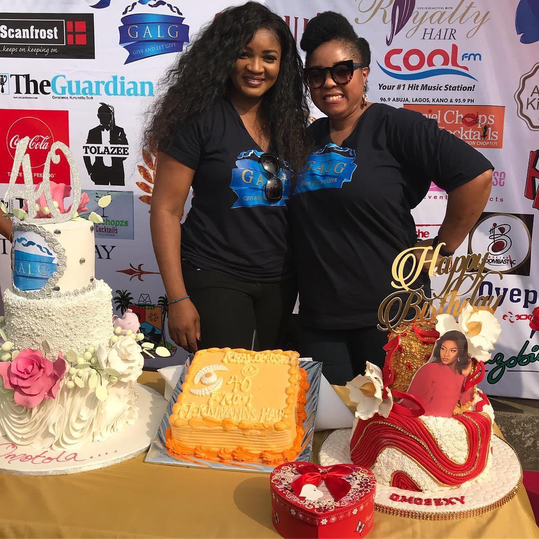 Omotola Jalade 40th Birthday Party Day 1 Photos: Omosexy ...